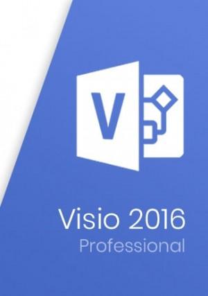 Microsoft Visio Professional 2016 Key (1 PC)