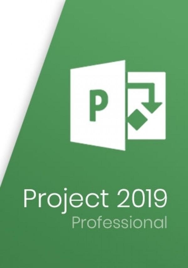 Buy Microsfot Project Professional 2019 For 1 User Key At O2keys