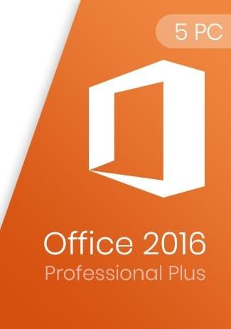 Office 2016 Professional Plus Key (5 PCs)