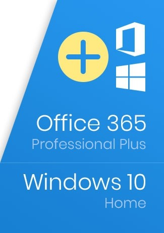 Windows 10 Home Key + Office 365 Account - Package